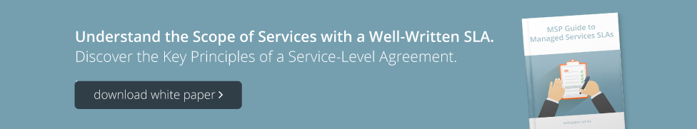 5 guidelines to crafting a strong service level agreement improve msp service level agreement sla platinumwayz