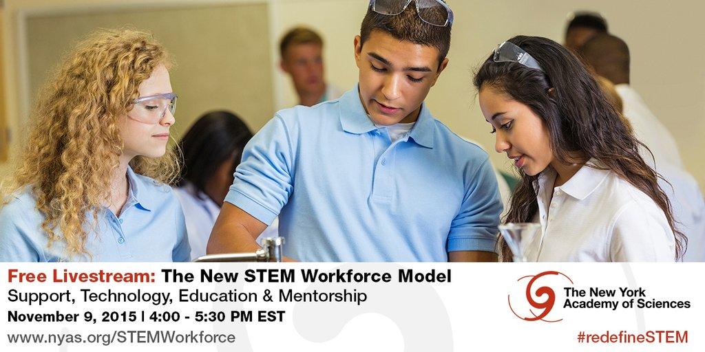 The New STEM Workforce Model livestream info