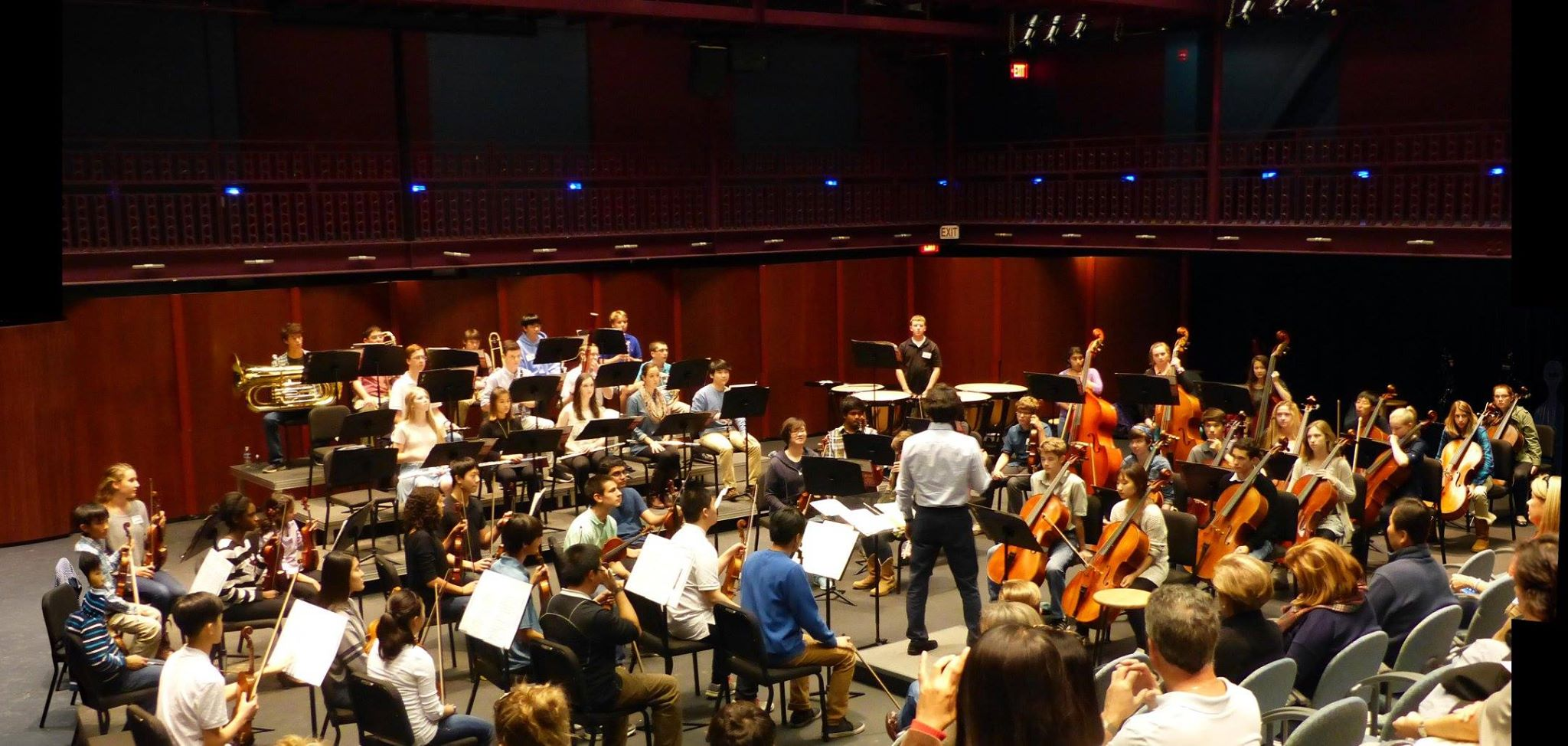 Loudoun Symphony Youth Orchestra (LSYO) with conductor Dr. Yeong Su Kim