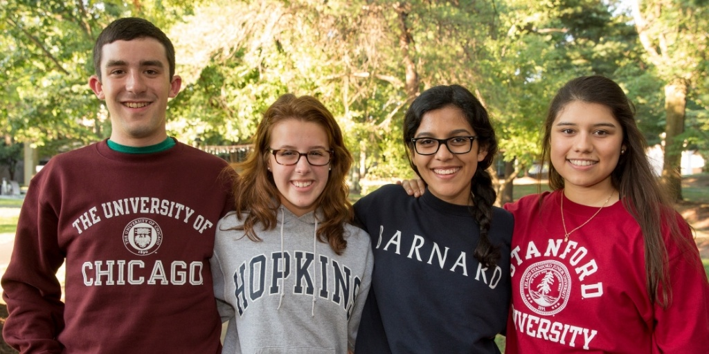 Cooke Scholars show school pride at Scholars Weekend 2015