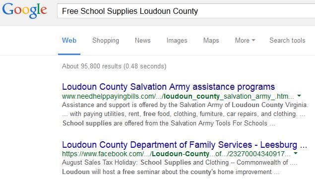 SchoolSuppliesWebSearch