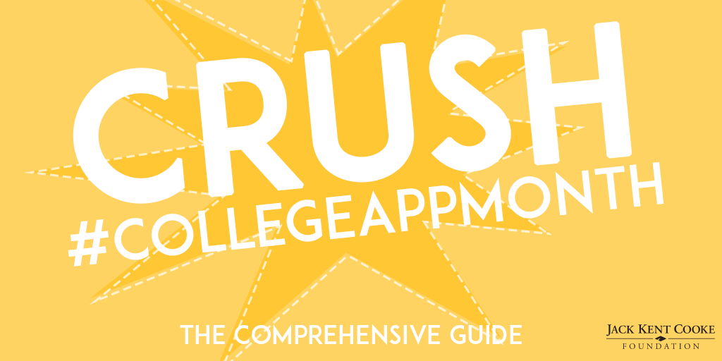 The Comprehensive Guide to Crush #CollegeAppMonth