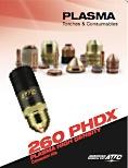 260 AMP plasma cutting torch information