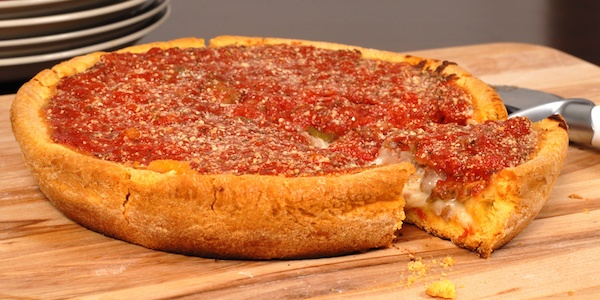 A taste of Chicago Deep Dish while you're at Fabtech 2017