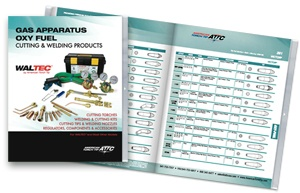 Oxy-fuel catalog with index of cutting, heating, welding and specialty tips.