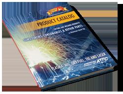 Consumables, repair parts torch tips, guns and torches catalog