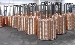 raw copper materials used to create wire strands