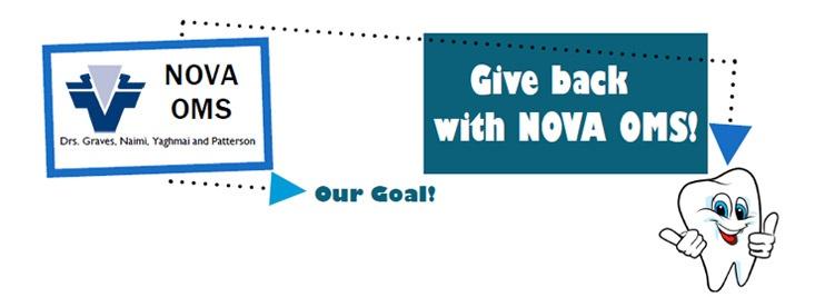 Give Back with NOVA OMS!