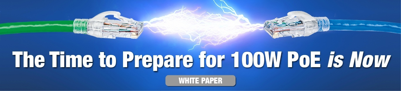 3 Reasons Why Power over Ethernet Demands CAT 6A Cable