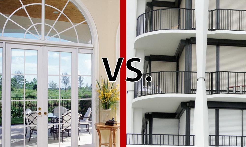 What S Better Hurricane Windows Or Hurricane Shutters