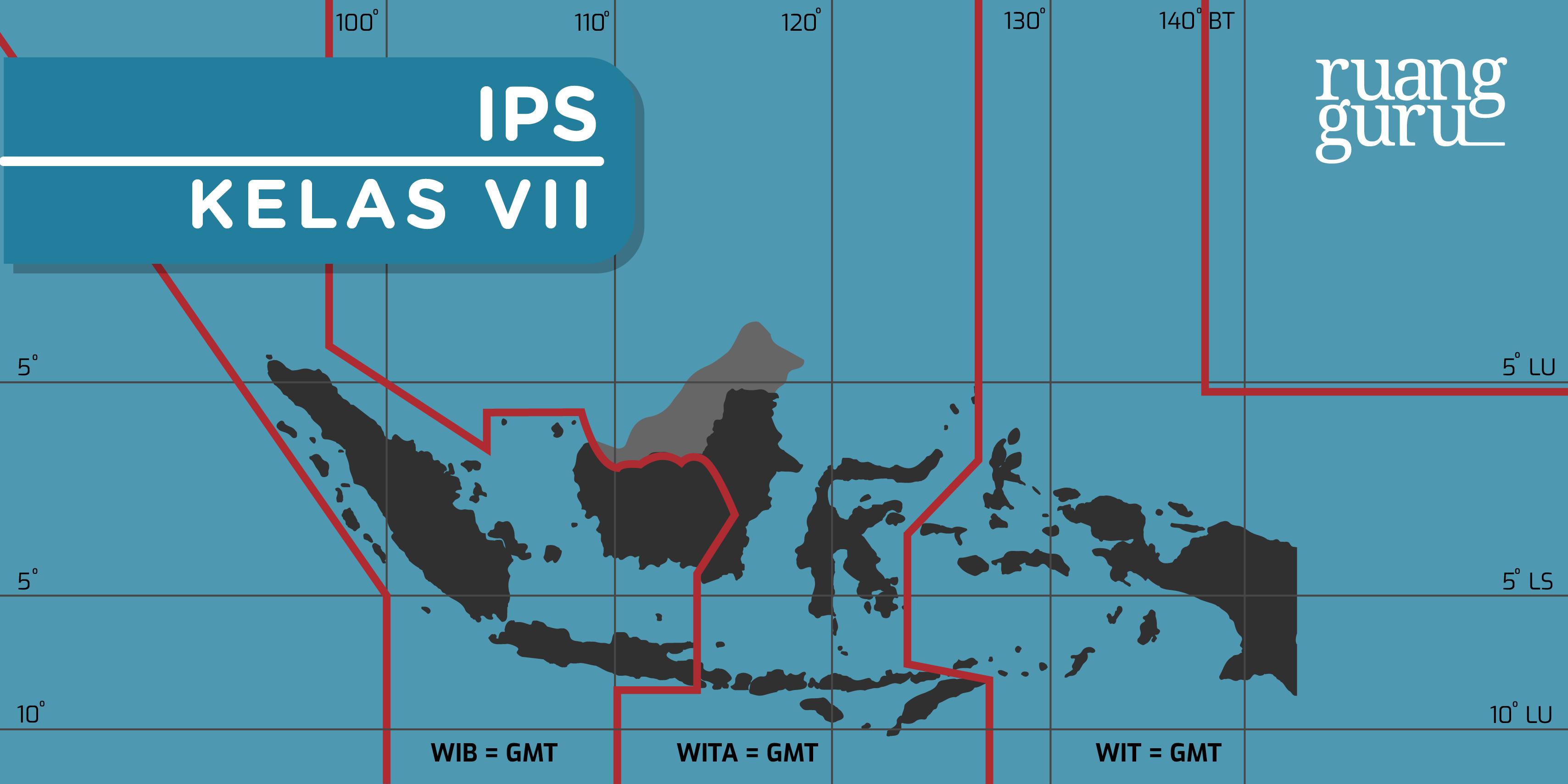 Geografi Kelas 7 Letak Geografis Dan Letak Astronomis Indonesia