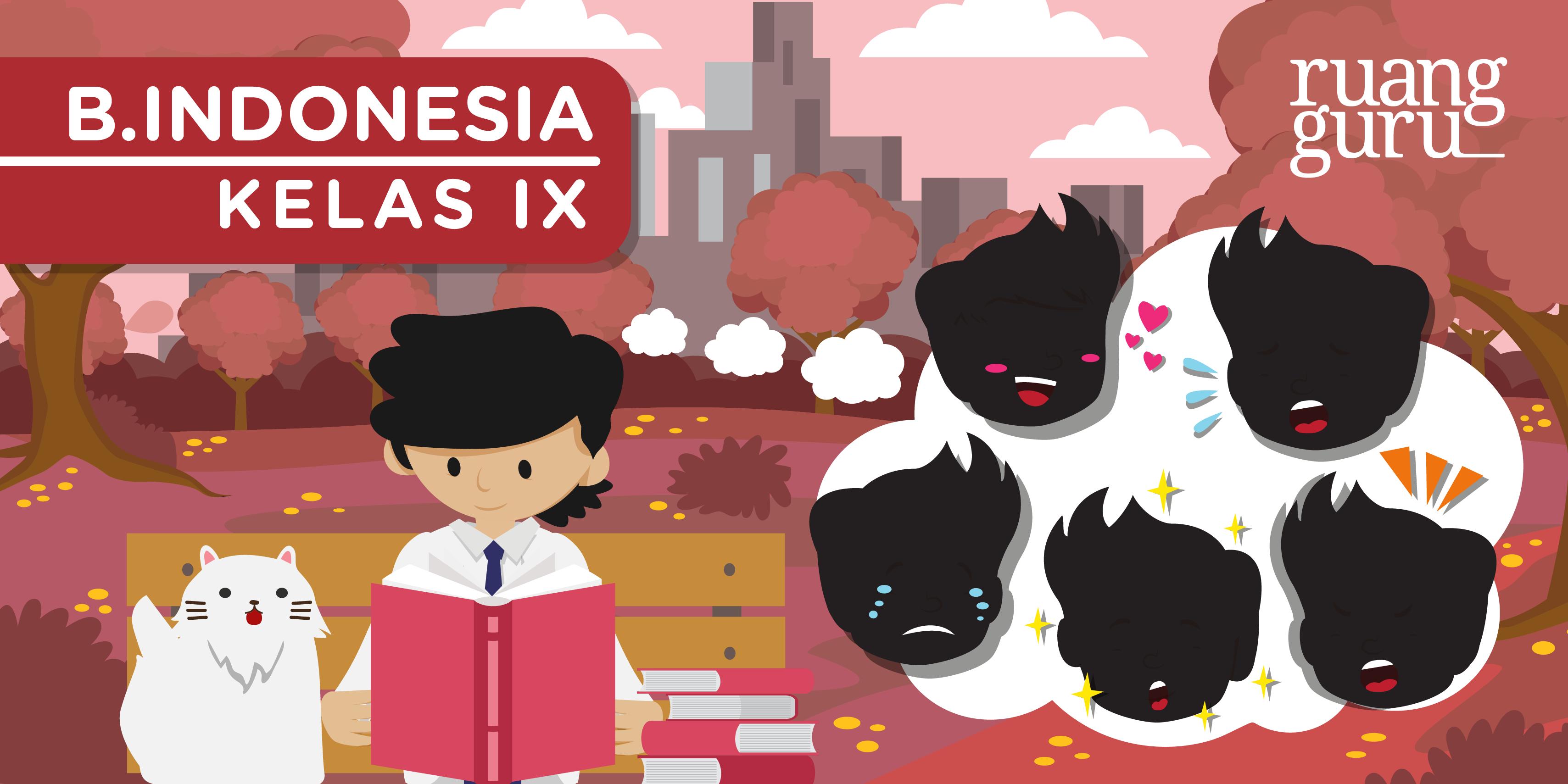 Bahasa Indonesia Kelas 9 Unsur Unsur Intrinsik Cerita Pendek