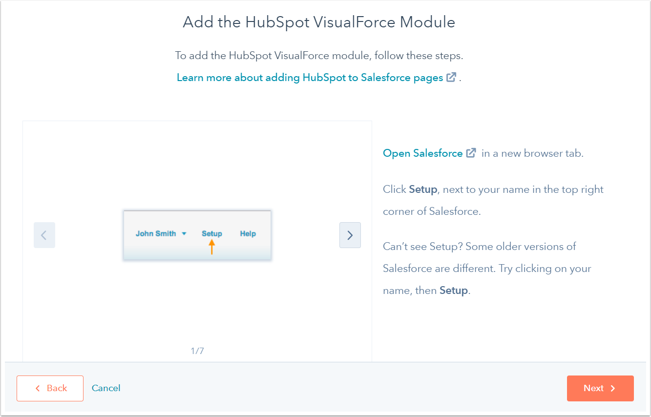 Install the HubSpot-Salesforce integration