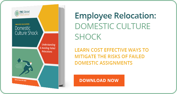 Employee Relocation I Domestic Culture Shock I TRC Global Mobility