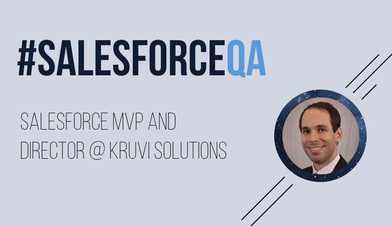 Amnon Kruvi, Salesforce MVP and Director.001