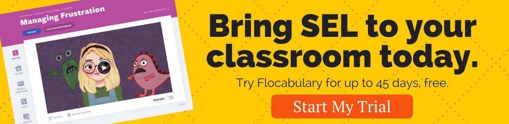 Building Sel Skills Through Formative >> Social And Emotional Learning Overview Flocabulary