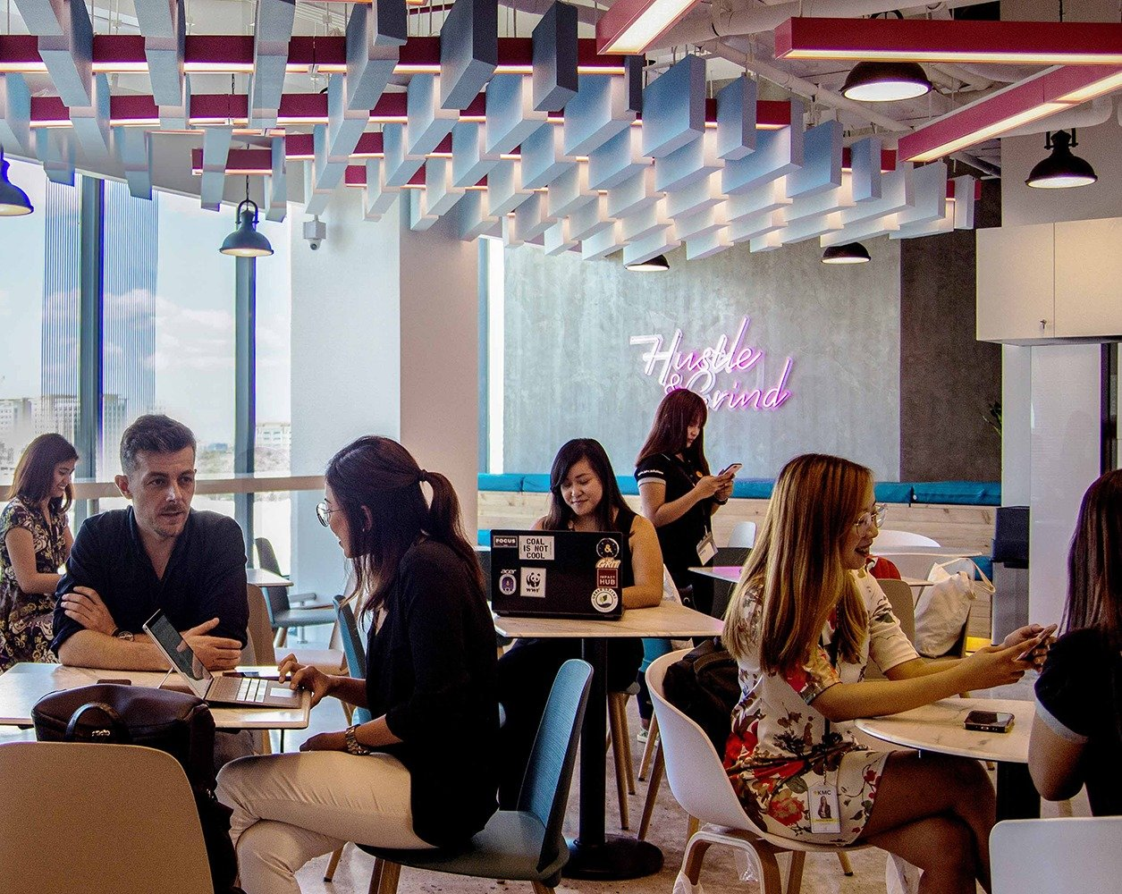 KMC co-working and chat time