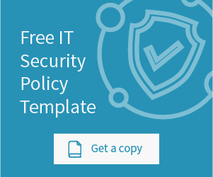 click to get your free it security policy template
