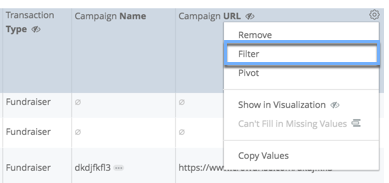 FilterFromDataTable