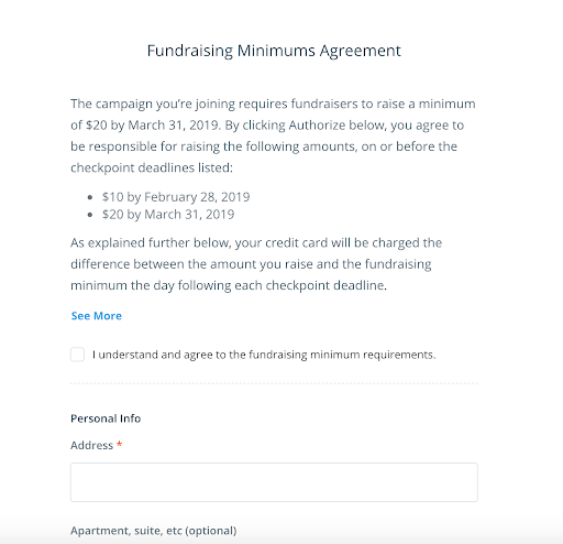 Fundraising Minimum Agreement-1