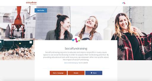 SocialFundraisingProfile