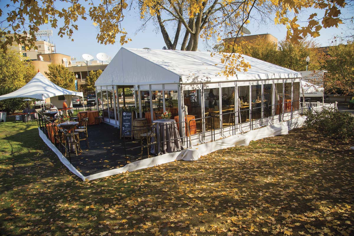 Heated Tents and Cooled Tents