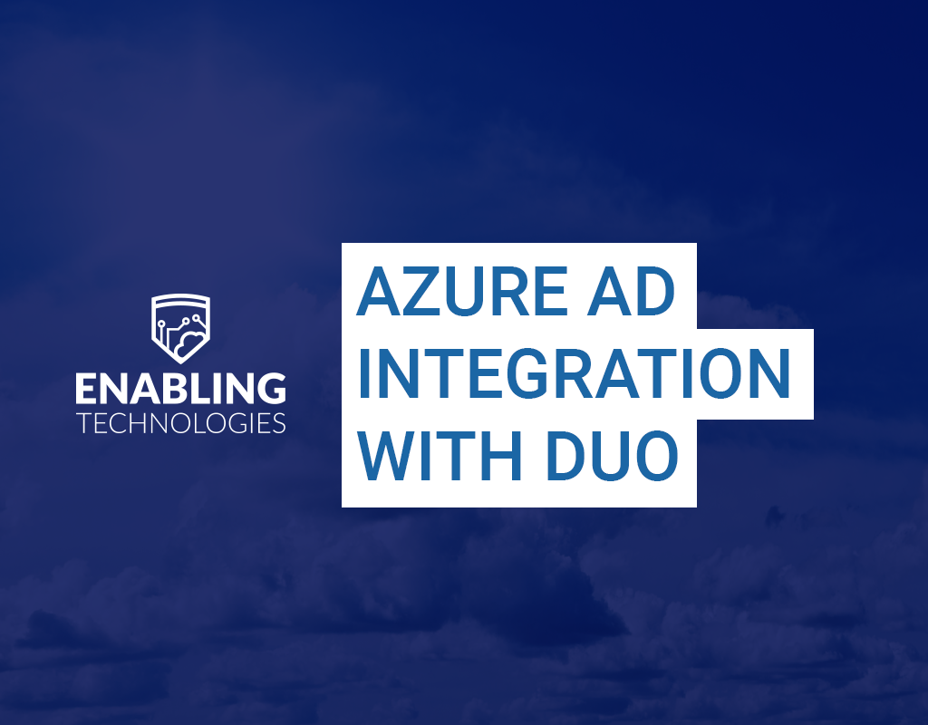 Azure AD 3rd Party MFA Integration with DUO