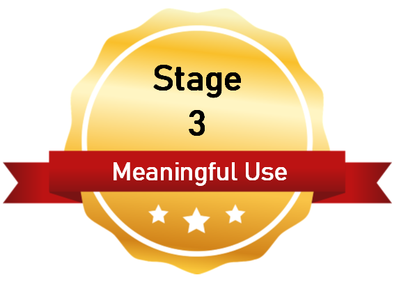 Meaningful Use 3 Certified
