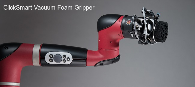 ClickSmart Vacuum Foam Gripper