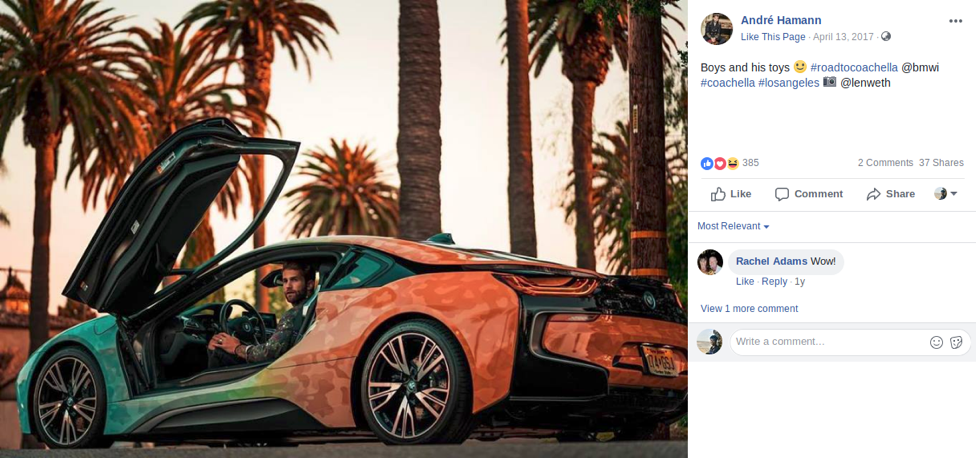 BMW FB Influencer