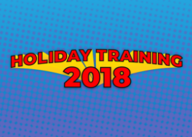Holiday Heroes Training Graphic