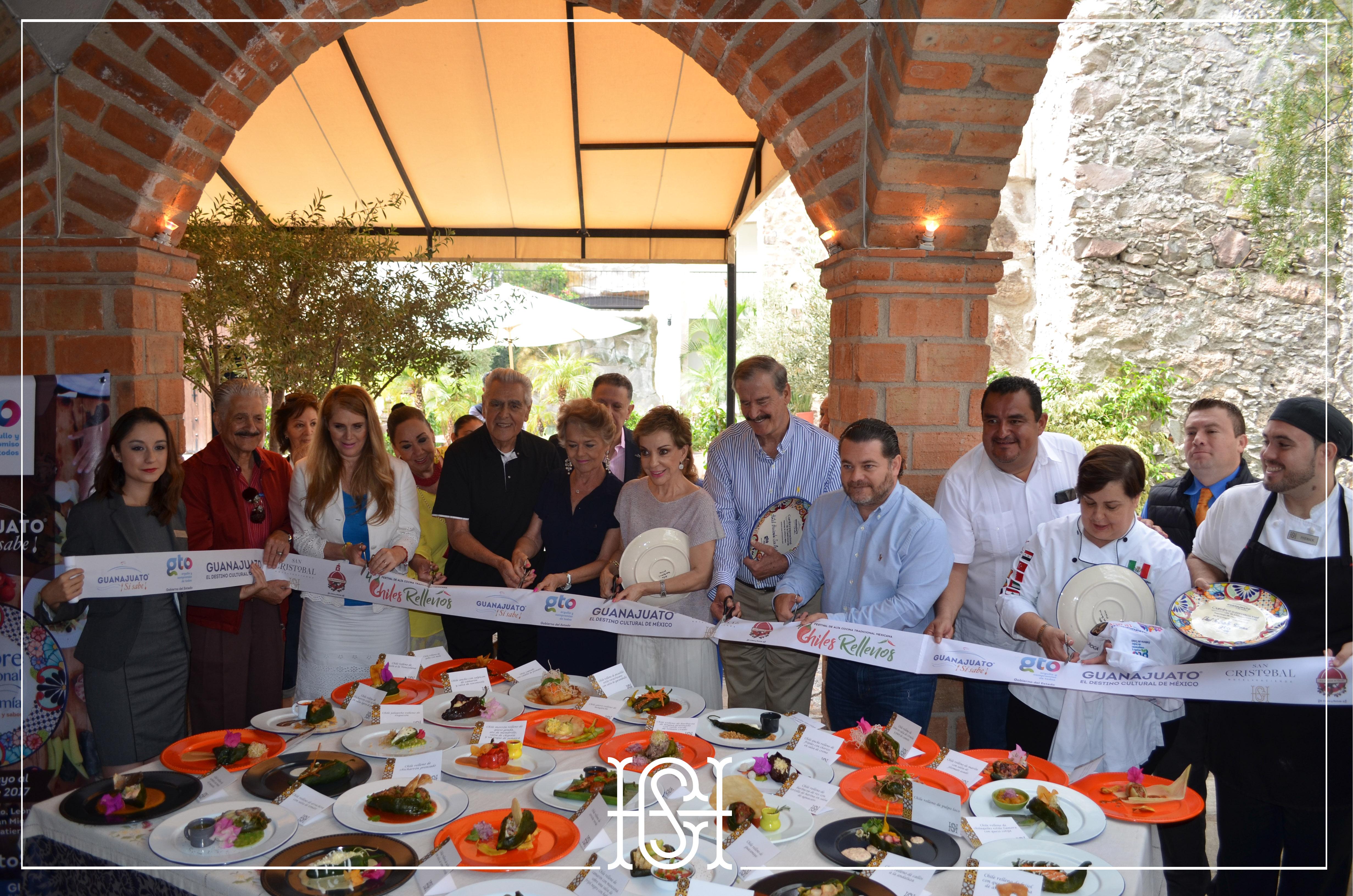 4 festival del alta cocina mexicana chiles rellenos en for Alta cocina mexicana