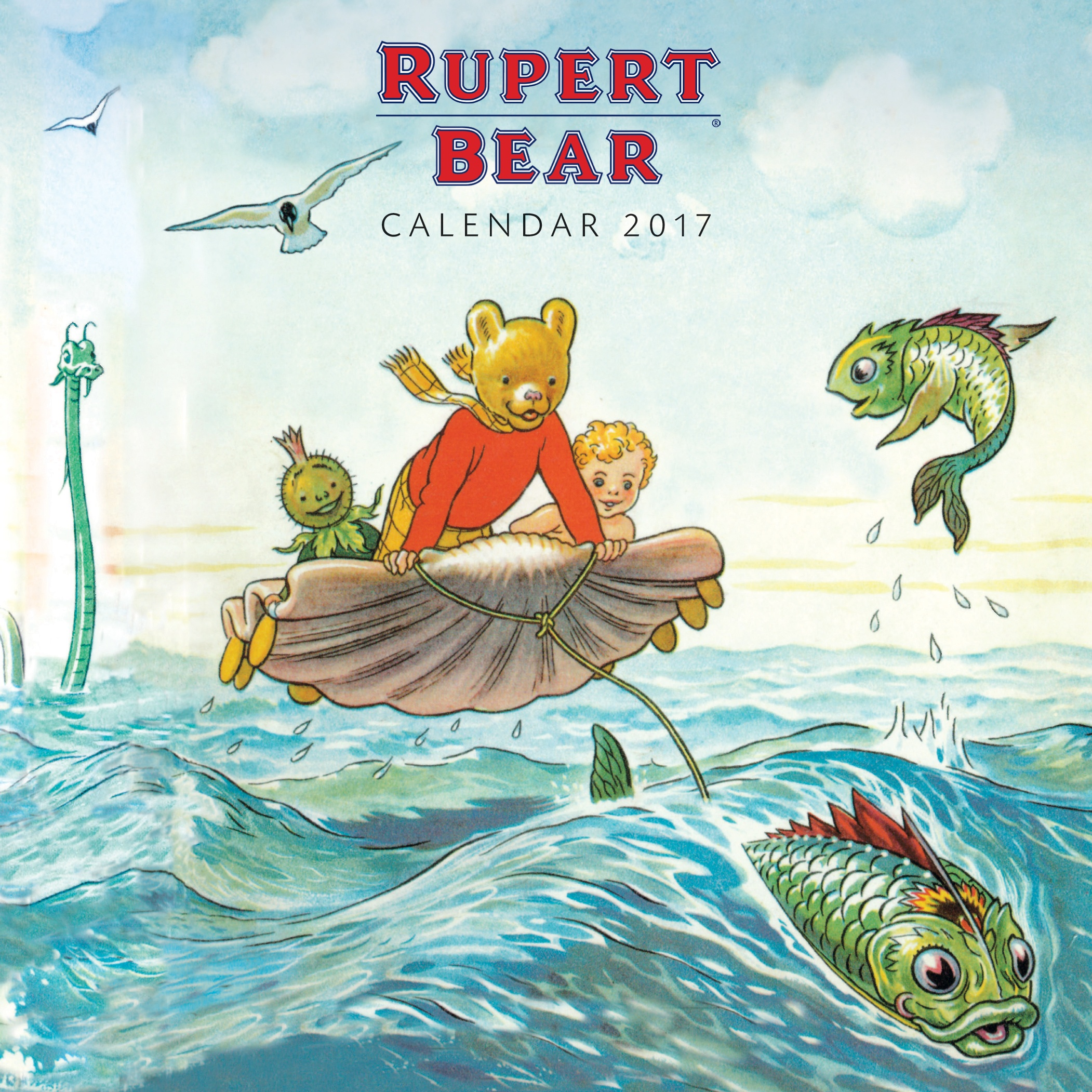 Top 10 Flame Tree Calendars Illustrations Rupert Bear