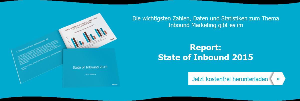 Der Bericht State of Inbound Marketing 2015 komplett auf Deutsch