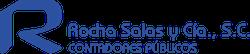 Logo Rocha Salas y Cía S.C.