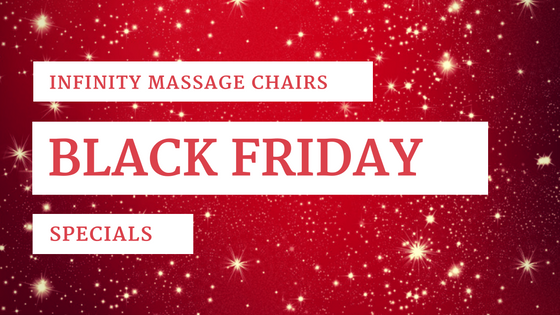 massage chair infinity black friday sales