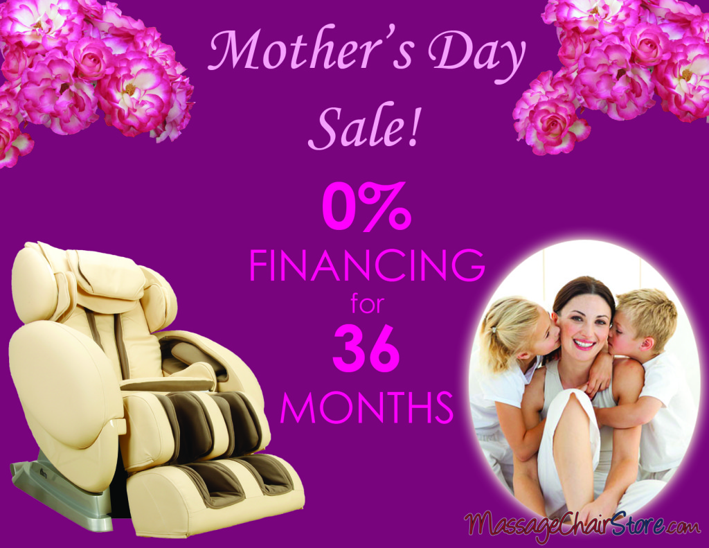 Mother's Day Financing Special