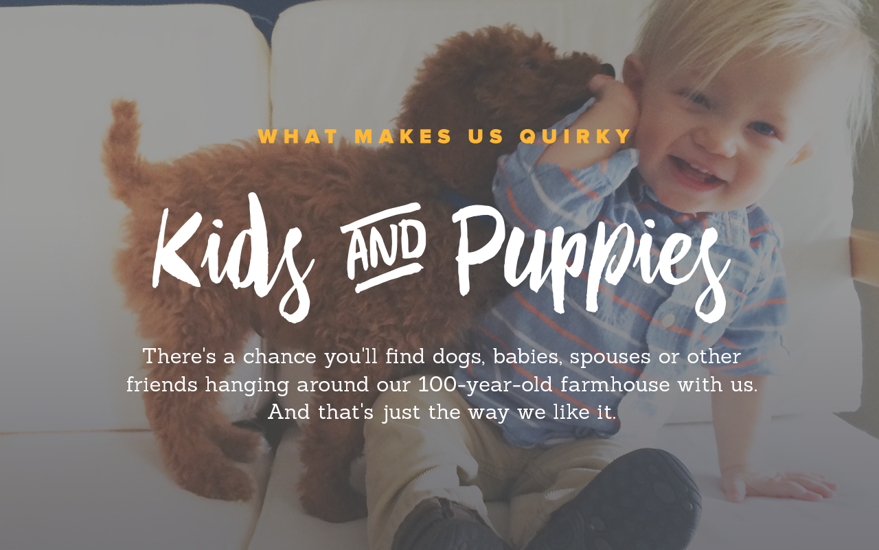 Kids & Puppies!