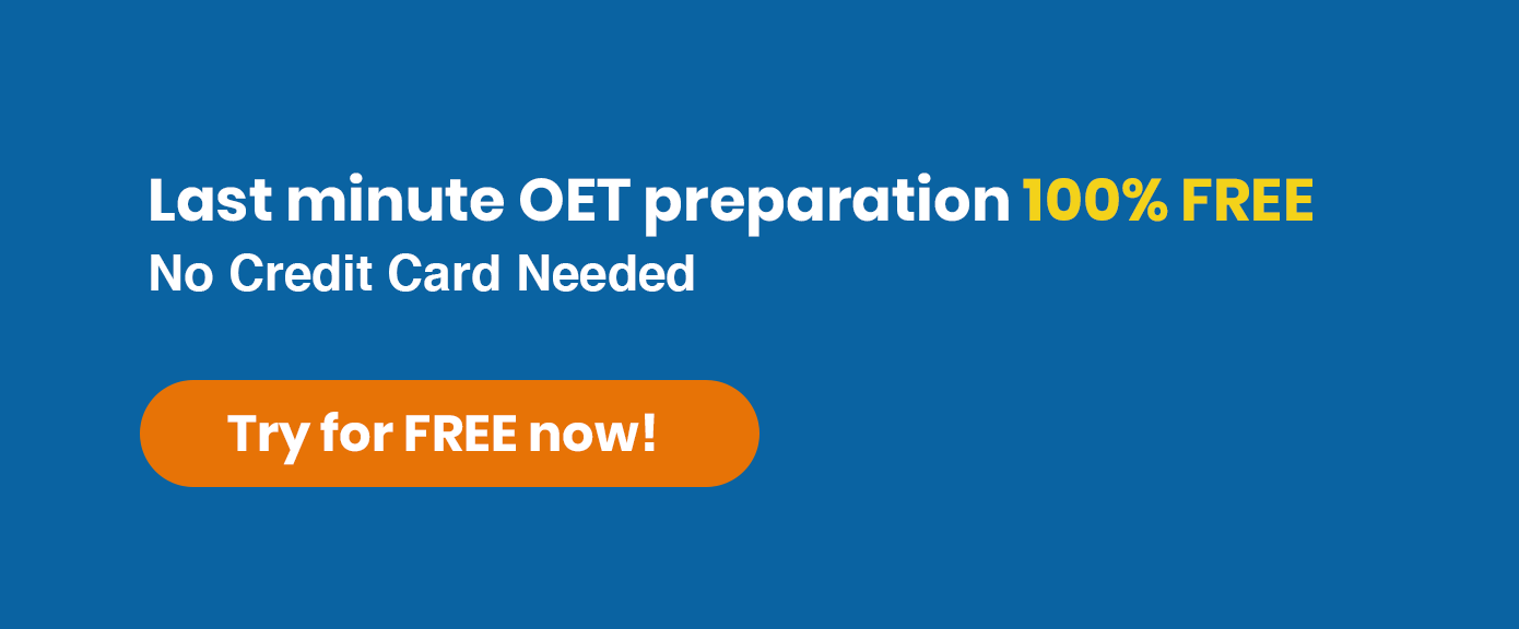 OET Writing Sub-Test | All the tips that you require to get a high score