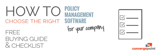 how to choose the right policy management software checklist