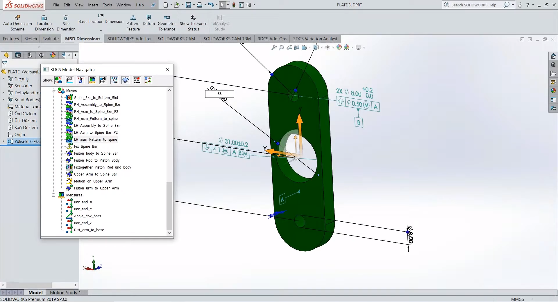 SOLIDWORKS Tolerance Analysis   3DCS Variation Analyst for