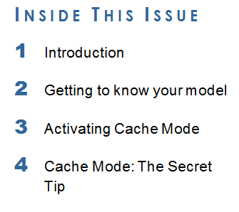 3DCS, CATIA V5, Cache Mode and You - A How To Guide on Using Cache Mode in CATIA V5
