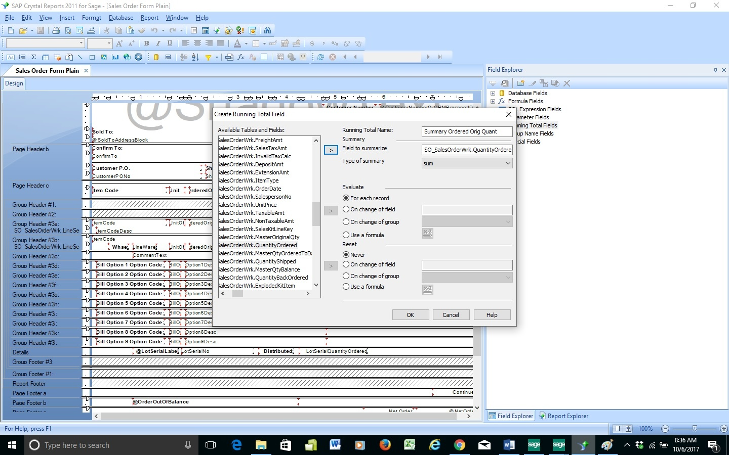 Sage 100 Consultant Tip - How to Create Calculations with