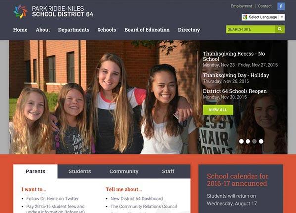 Top 10 School District Website Design Examples