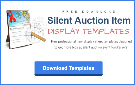 Writing Item Descriptions for a Silent Auction is Easier Than You – Sample Silent Auction Bid Sheet