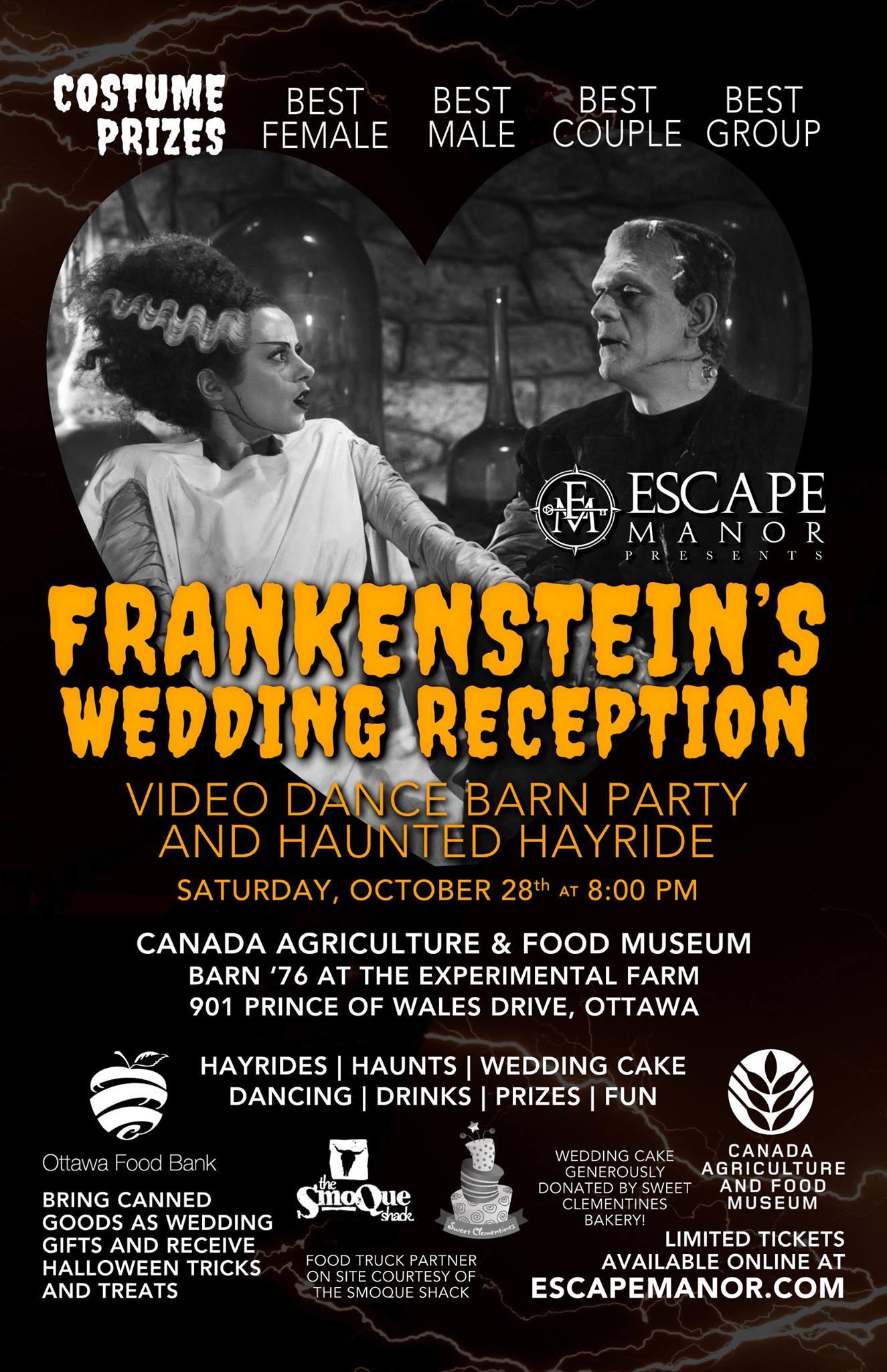 Frankenstein's Wedding Reception Poster
