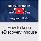 How to keep eDiscovery inhouse