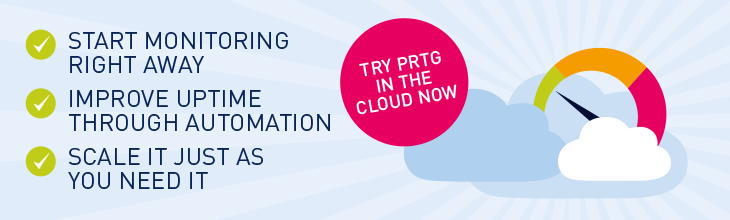 PRTG in the cloud