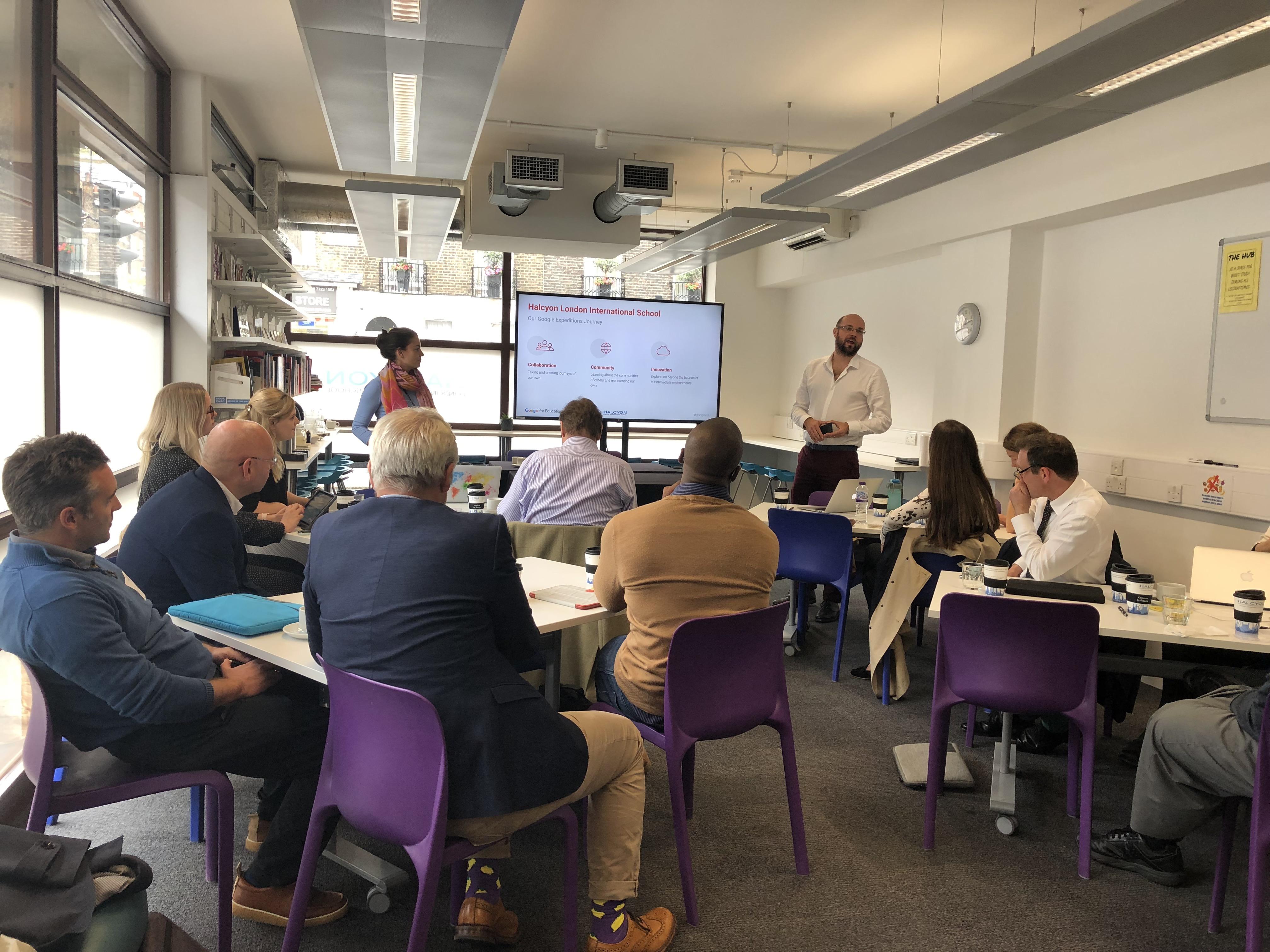 introducing the IB to edtech innovators