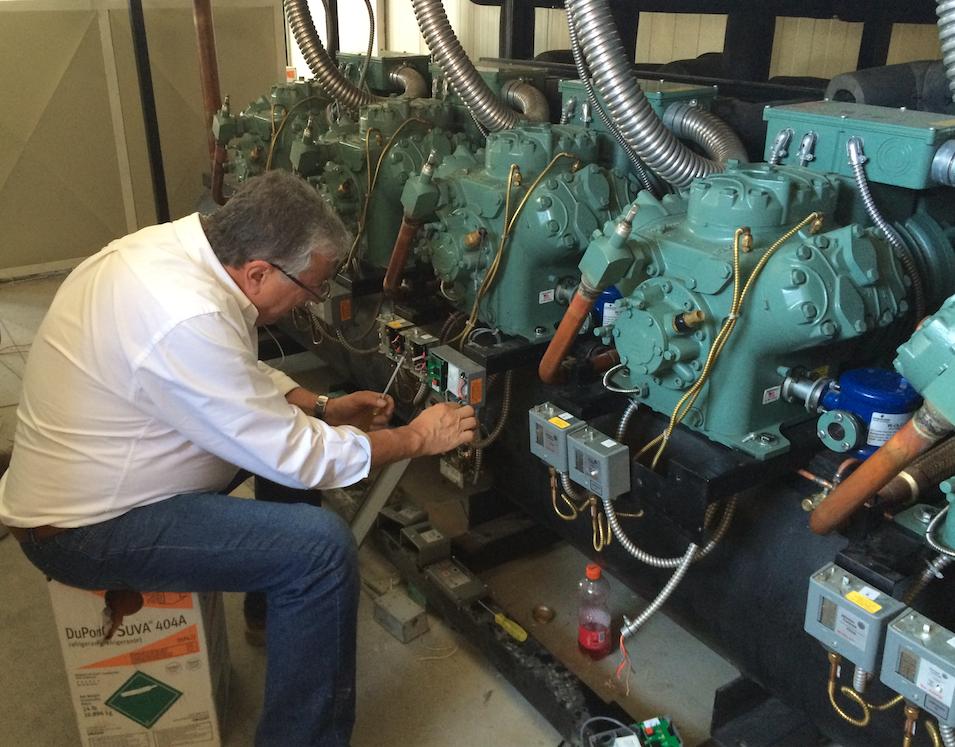 tipos de sistemas de refrigeracion industrial_mantenimiento